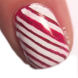 Striped Gradient || Nail Art Vinyl || Line Sticker