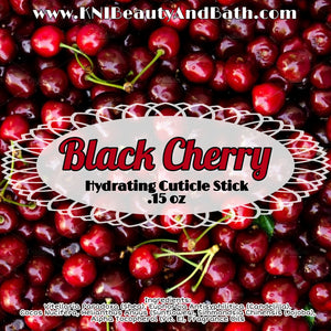 Black Cherry ~ Hydrating Cuticle Stick || Vegan Moisturizing Balm || Skin Humectant