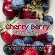 Load image into Gallery viewer, Cherry Berry - Hydrating Lip Balm || Vegan Moisturizing Chap Stick