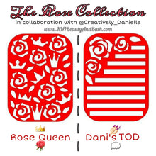 Load image into Gallery viewer, Rose Queen 👑🌹 || The Rose Collection || Nail Art Vinyl || Collab Sticker