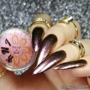 Celestial Lotus - Multichrome Powder || Loose Metallic Nail Art