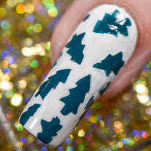 Load image into Gallery viewer, Oh, Christmas Tree ~ Nail Vinyl ||TGB Exclusive - Full Size || 4x4 Sheet