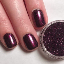Load image into Gallery viewer, Amethystina Glitter || Plum Ultra Fine Burnishable || Solvent Resistant