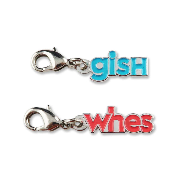 "2019 ""Whes"" and ""GISH"" Charm Set"