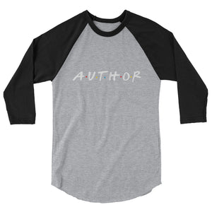 """Author"" Unisex 3/4 Sleeve Tee"