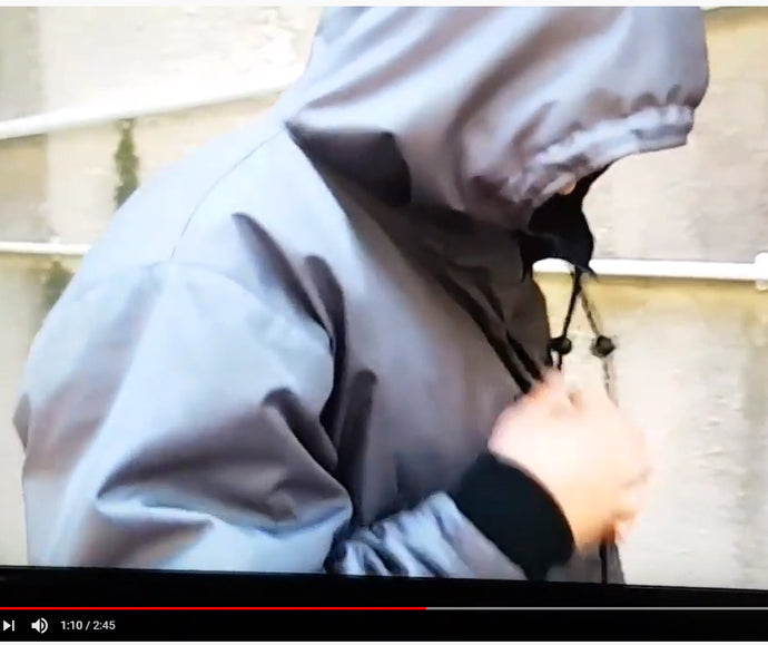 ROOF Coat bag featured in ITV News (UK) special