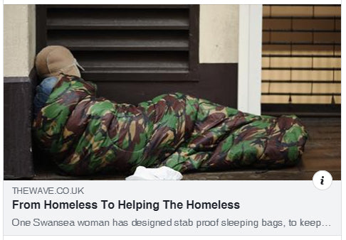 From homeless to helping the homeless (radio interview)