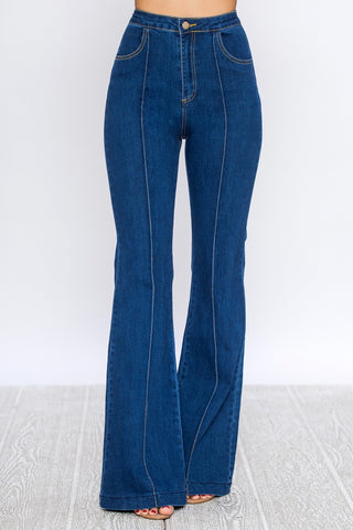 Bootleg Middle Seam jean