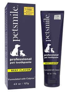 PetSmile VOHC approved Pet Toothpaste 4.5oz