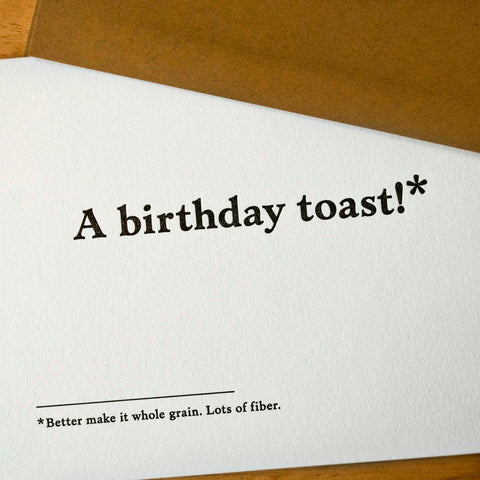 Toddler's Birthday Party Card