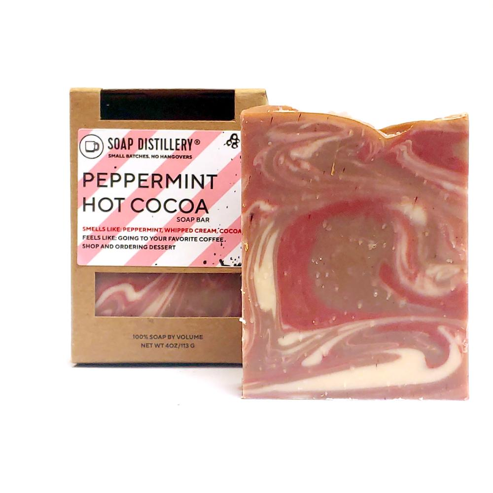Peppermint Hot Cocoa Soap Bar