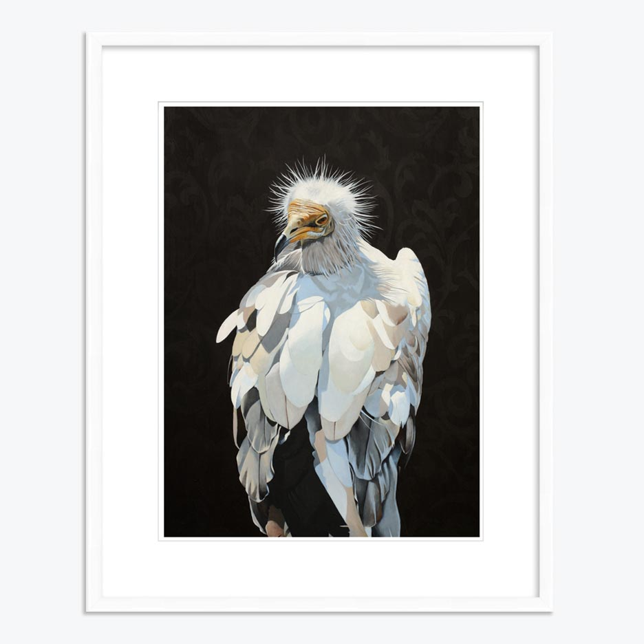 18 x 24 Limited Edition Art Print - Purifying Angel Of The Decomposing Carcass