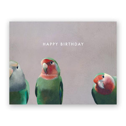 Matt Adrian Bird Birthday Box Set of 12