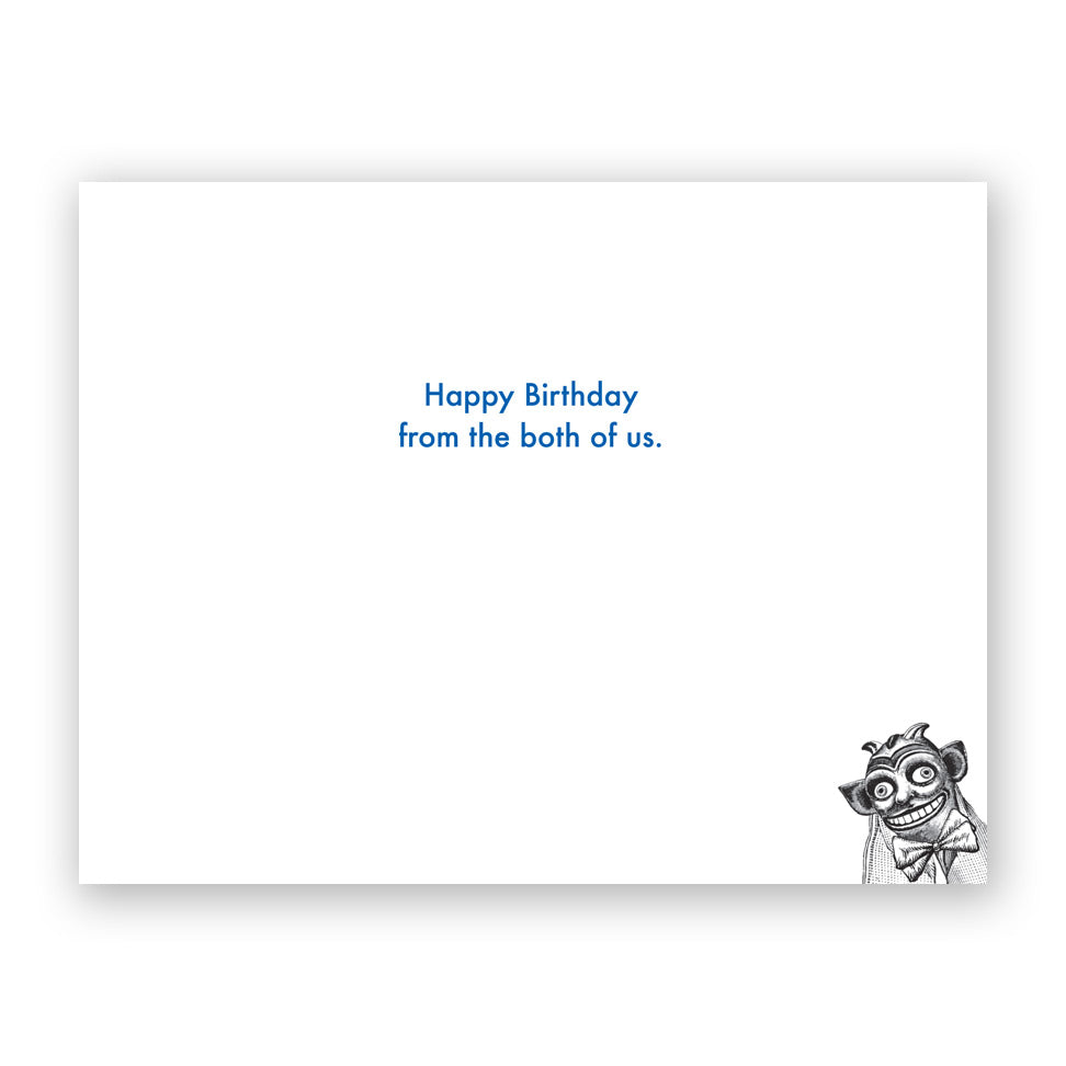 Puppet Birthday Card