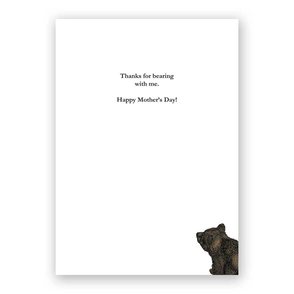 Bear Mother's Day Card
