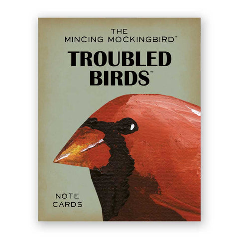 More Troubled Birds Card Set of 12