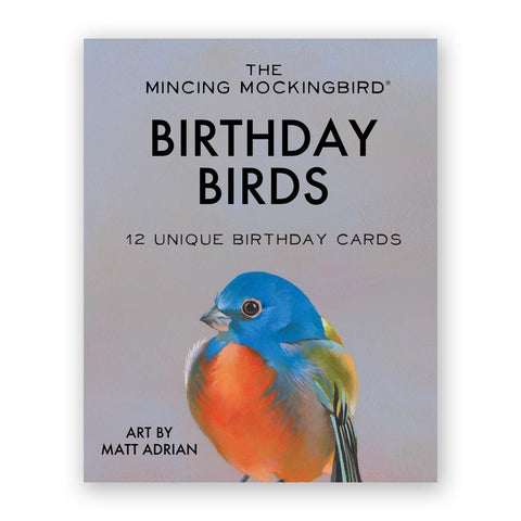Sparrow Birthday Card