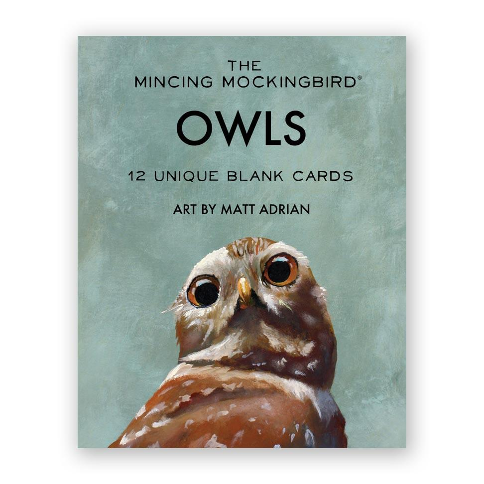 Matt Adrian Owl Card Set