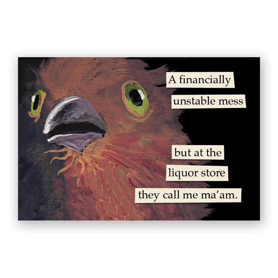 Liquor Store Magnet – The Mincing Mockingbird & The Frantic Meerkat