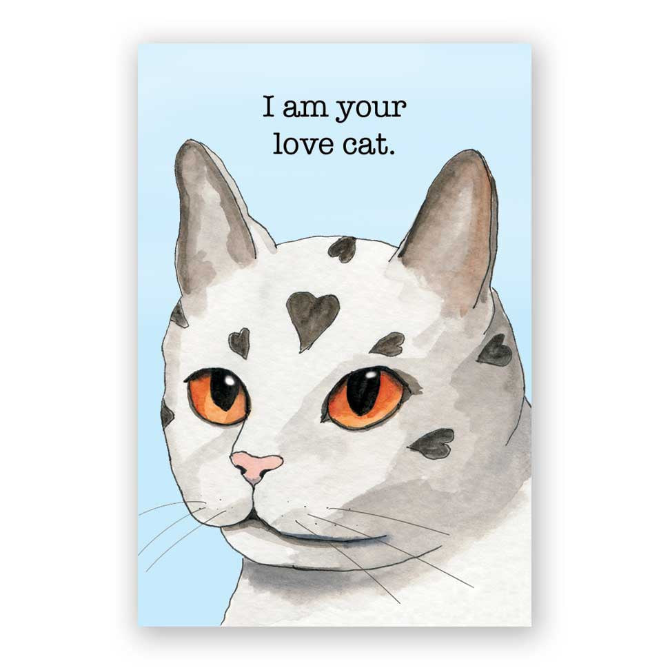 I am your love cat. Magnet