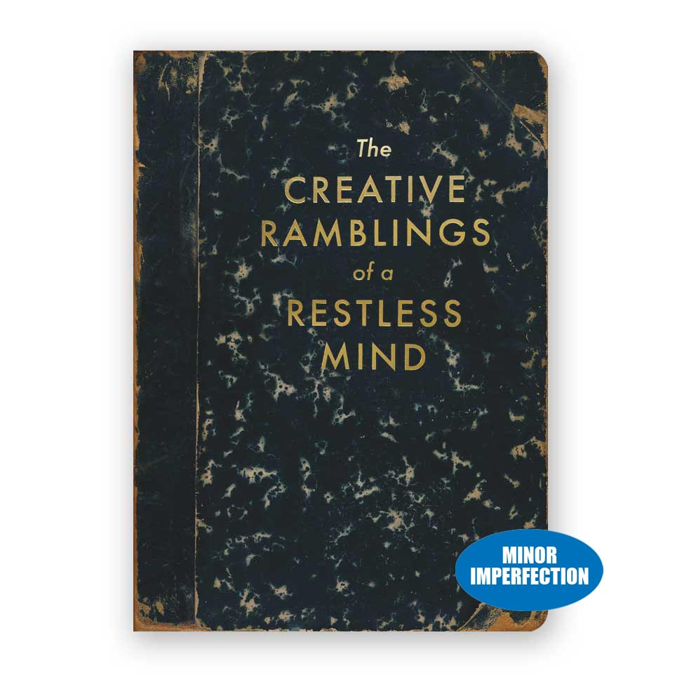 Sale - The Creative Ramblings of a Restless Mind Journal
