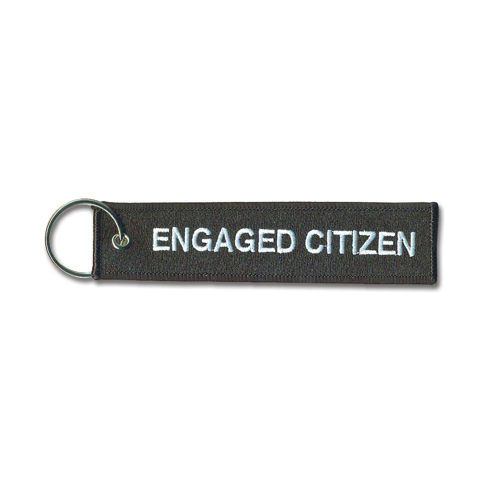 Engaged Citizen Key Chain