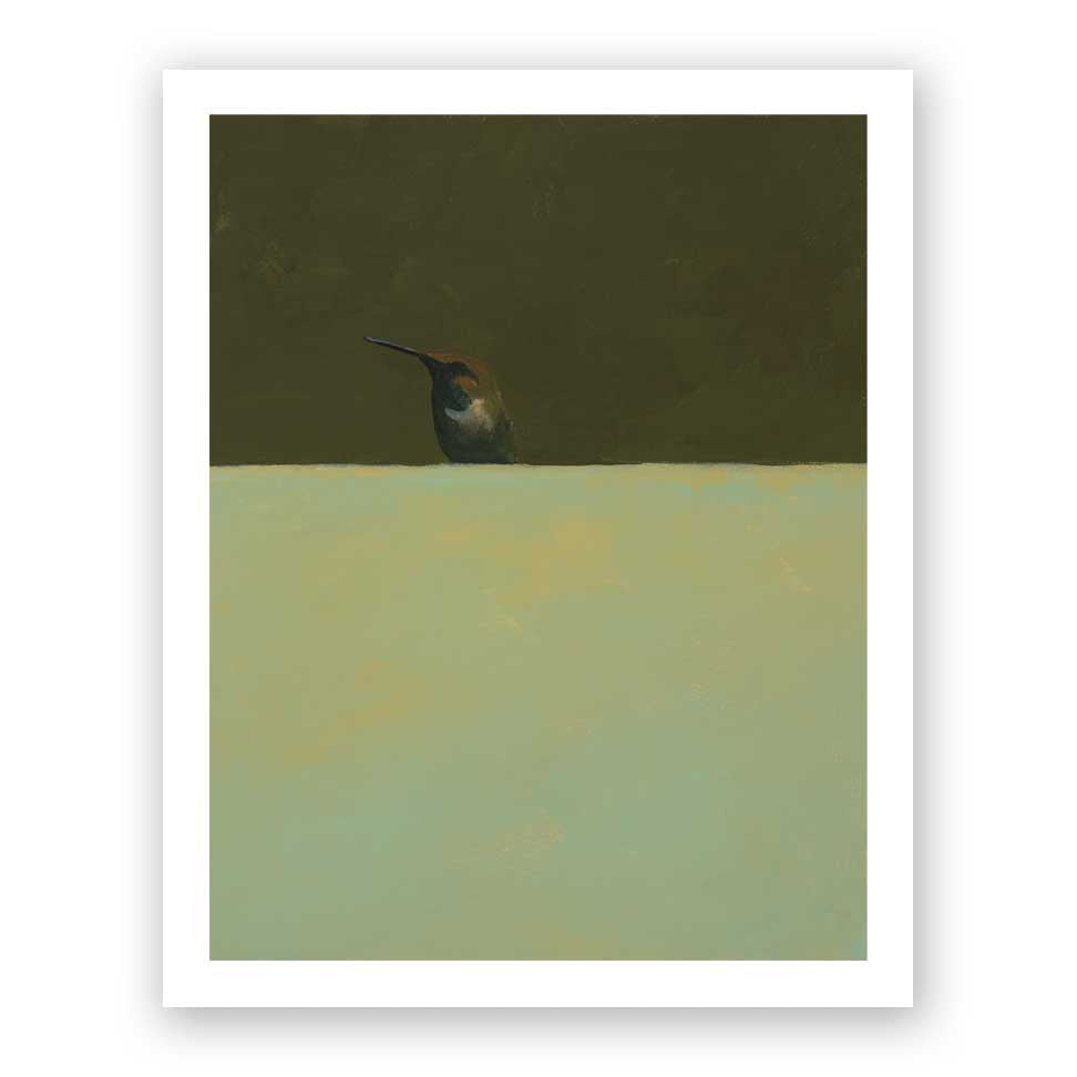 8 x 10 Art Print - Hummingbird Number 73