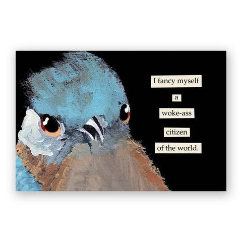 Poop on Fascists Postcards - Set of 12 - Troubled Birds