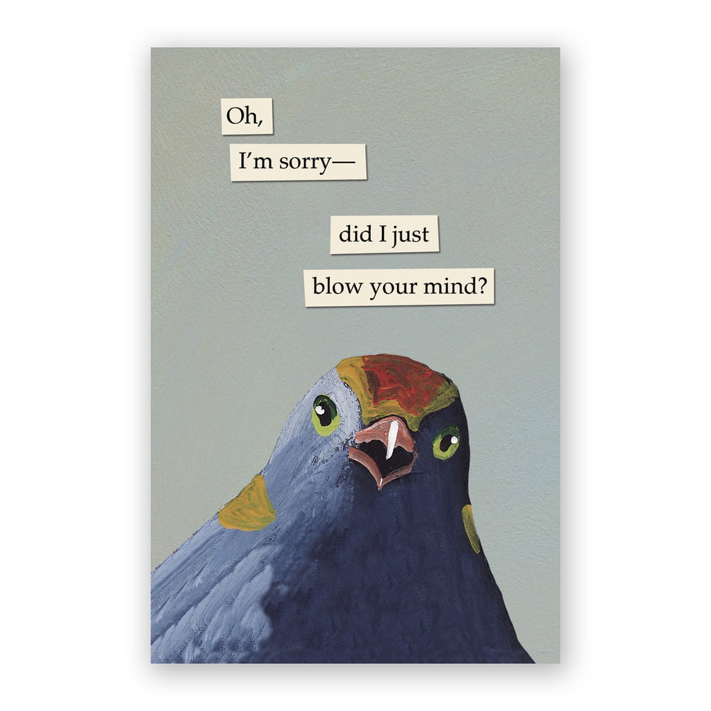 Blow Your Mind Postcards - Set of 12 - Troubled Birds