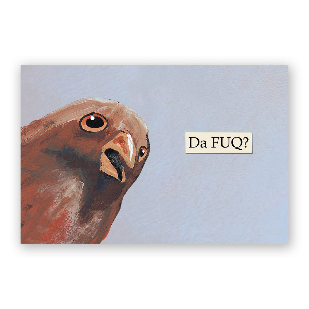 Da FUQ? Postcards - Set of 12 - Troubled Birds
