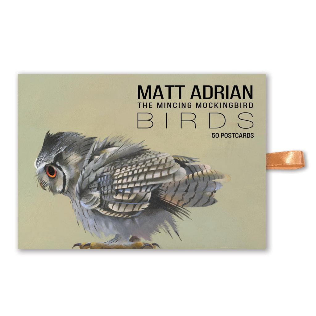 Matt Adrian Fine Art Bird Postcard Set