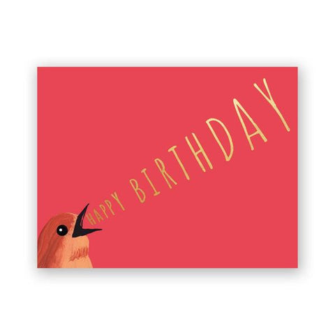 Slow Wink Birthday Card