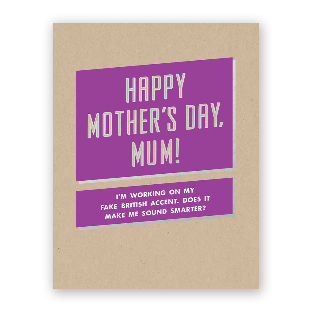 Happy Mother's Day, Mum Card