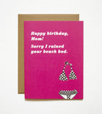 Beach Bod Birthday Card