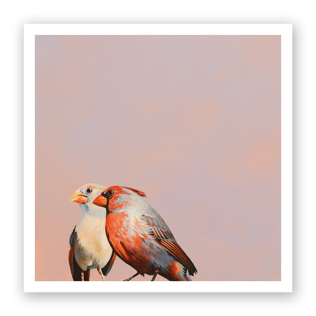 12 x 12 Limited Edition Art Print - He Is Full Of Romantic Surprises...