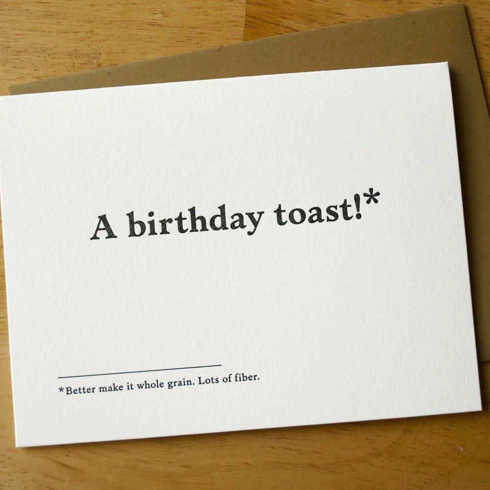 Birthday Toast Card