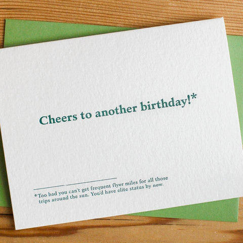 Ask Me My Age Birthday Card
