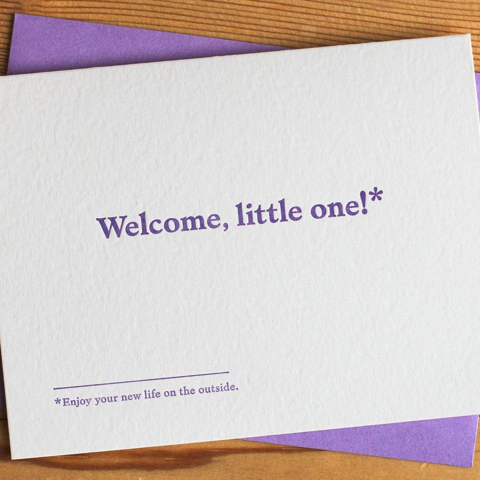 Welcome, Little One Baby Card