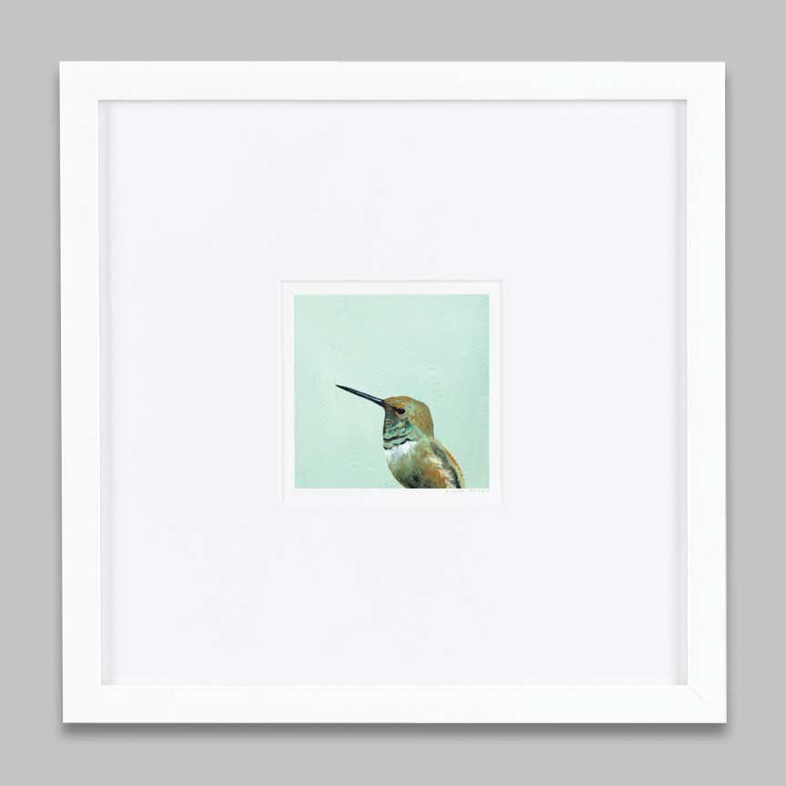 5 x 5 Art Print - If I Send Silly Little Thrills Up And Down Your Spine, That Was Never My Intention