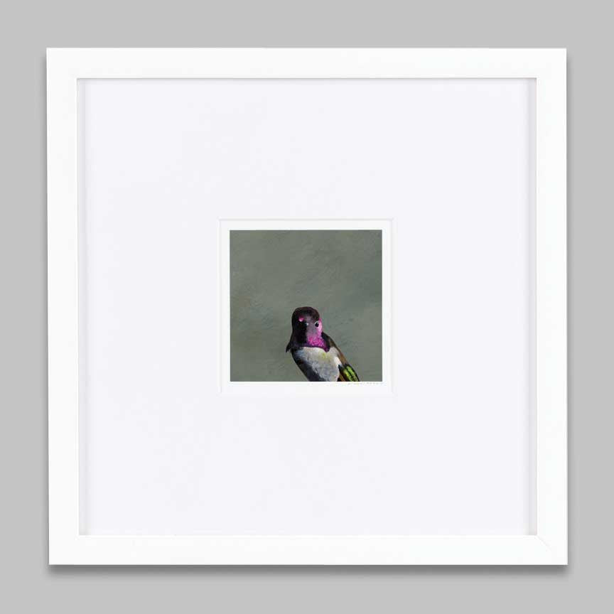 5 x 5 Art Print - My Greatest Weakness Was That I Was Always Up For A Flit Amongst The Bramble