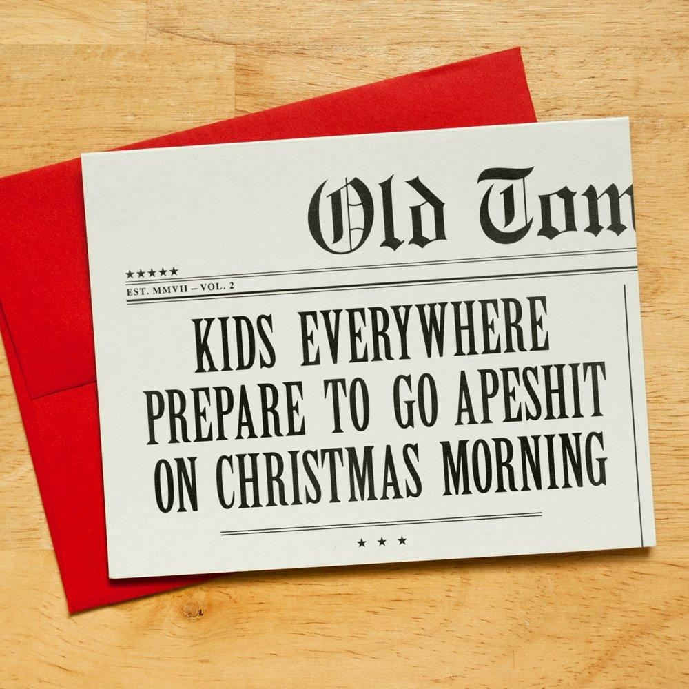 Kids Everywhere Prepare To Go Apeshit On Christmas Morning