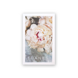 Thanks Peony Mini Card