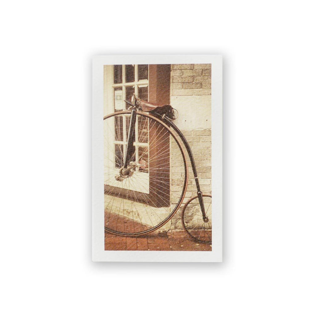 Penny-Farthing Mini Card