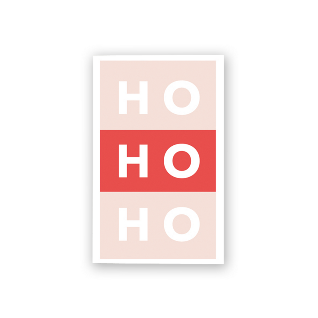 Ho Ho Ho Mini Card