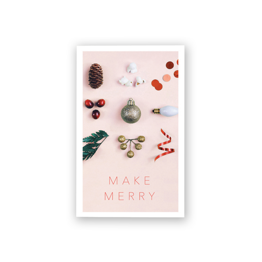 Make Merry Mini Card