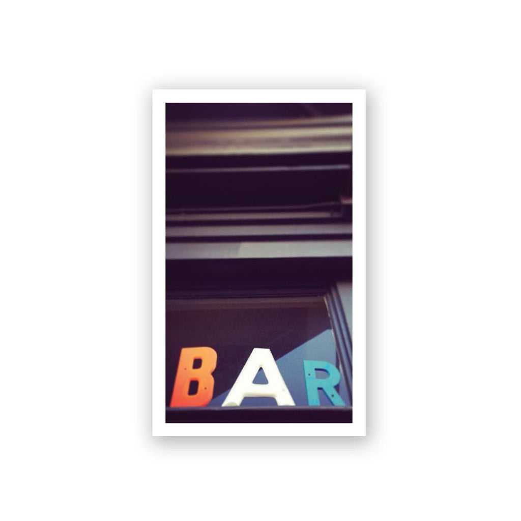 Bar Mini Card
