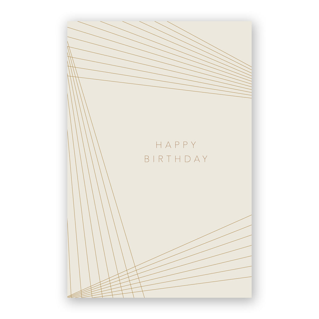 Birthday Lines Card
