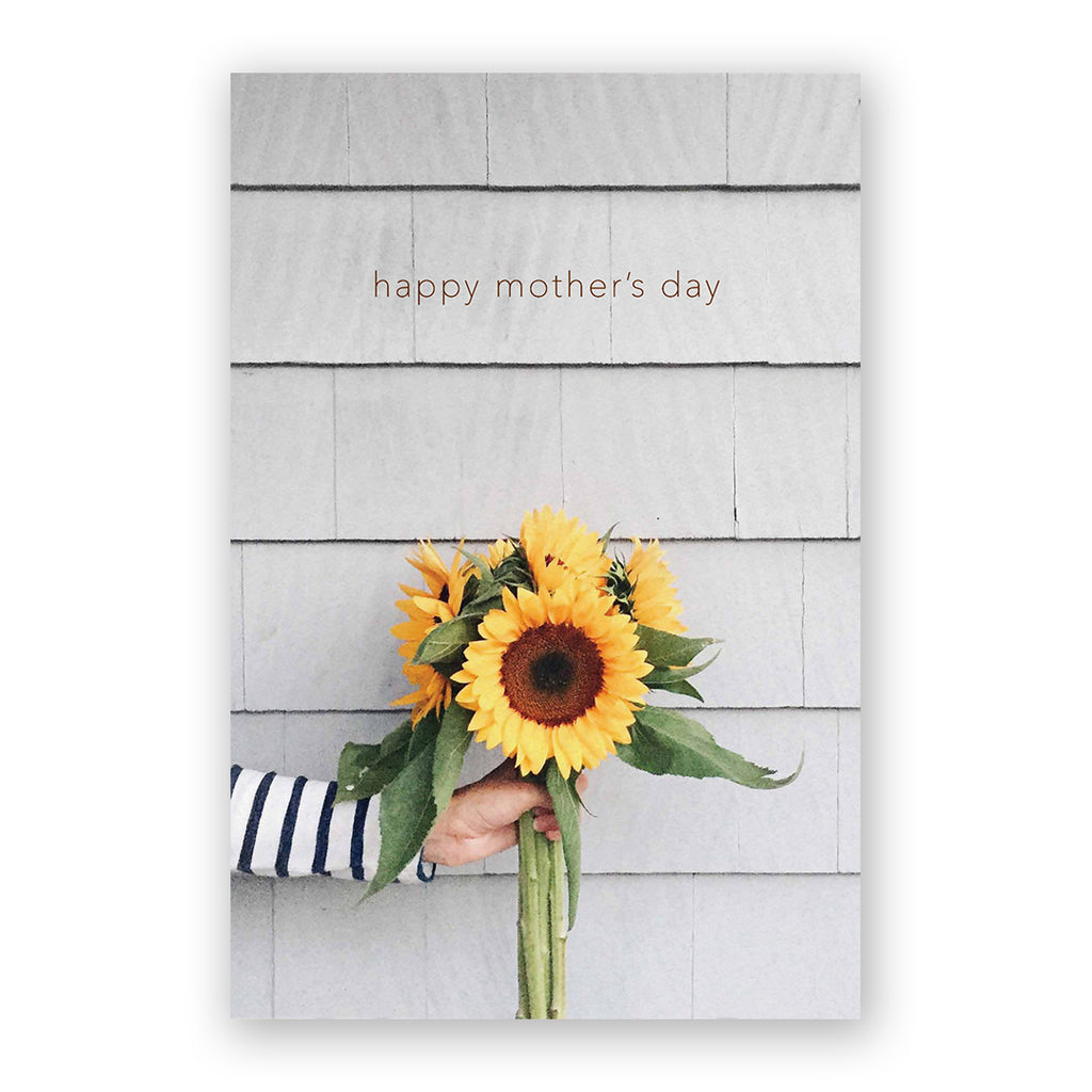 Sunflowers Mother's Day Card