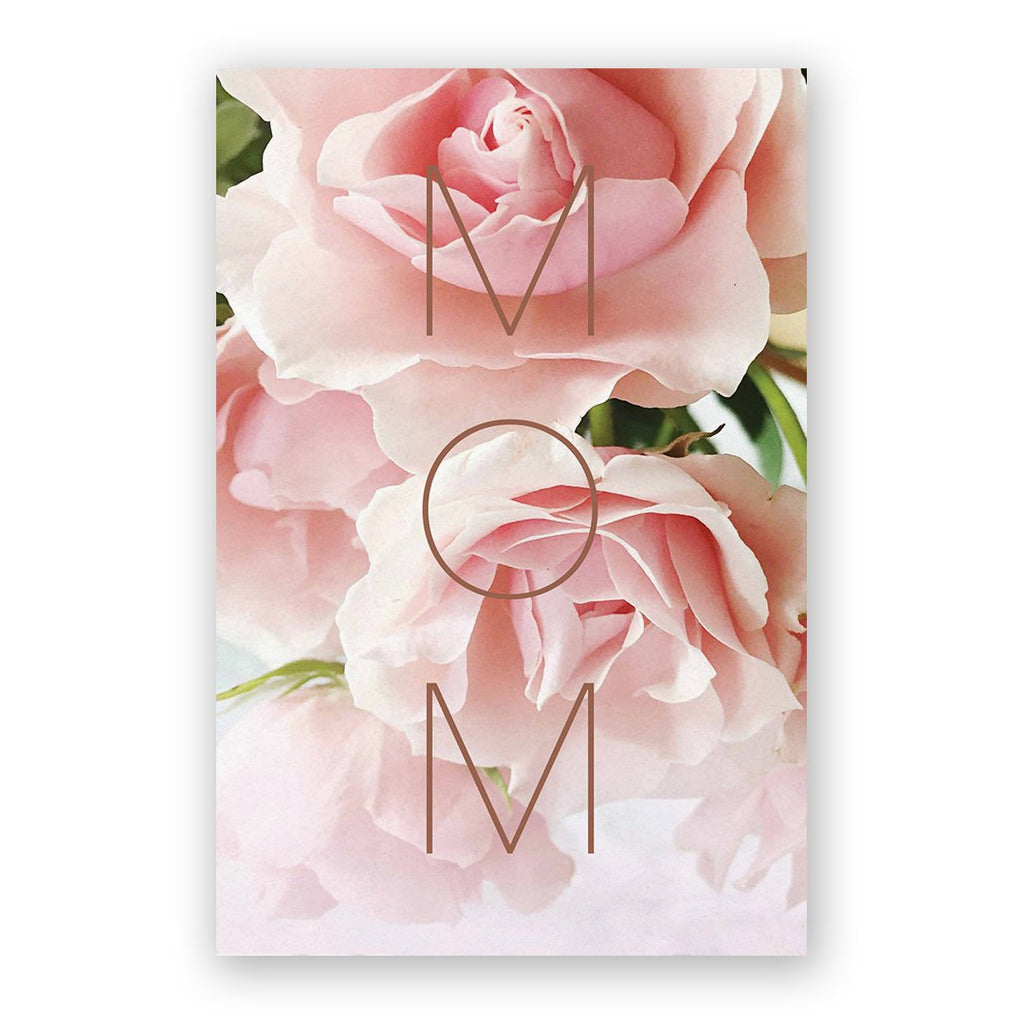 Mother's Day M-O-M Card