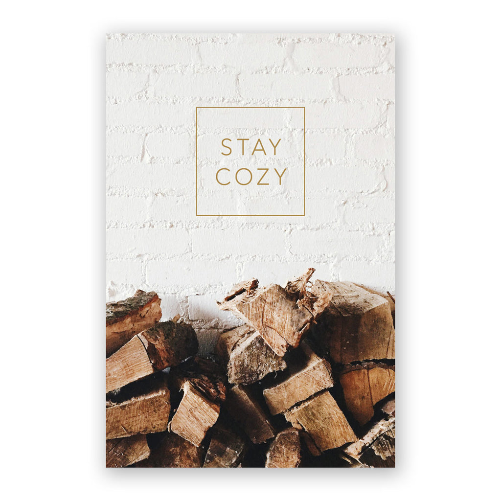 Stay Cozy Holiday Card